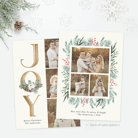 Holiday Card | Winter Centerpiece