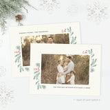 Holiday Card | Winter Pine