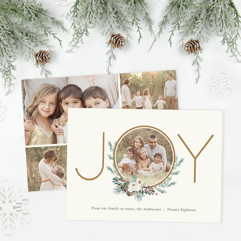 Holiday Card | Winter Foliage