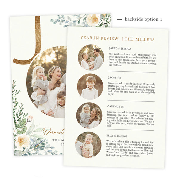 Holiday Card | Winter Joy