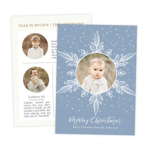 Christmas Card | Very Merry Winter