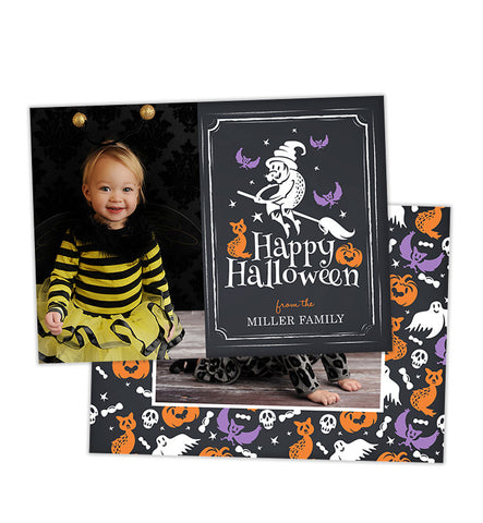 Halloween Card | Witch