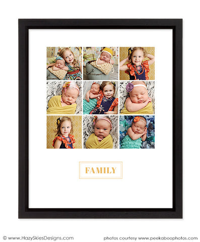 Story Board Collage | Family