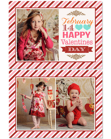 Valentine's Photo Card | The 14th