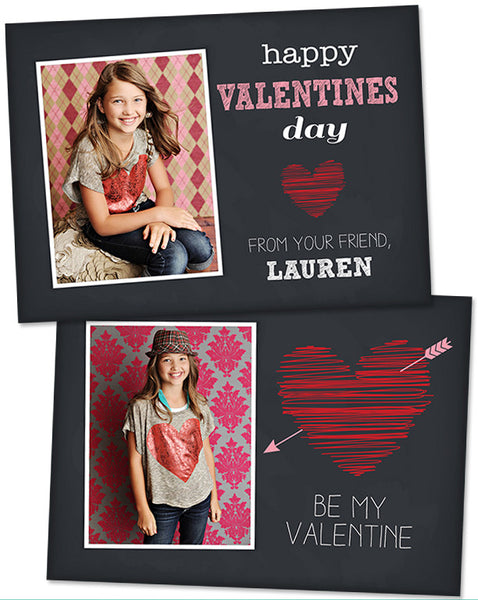 Valentine's Photo Card | Be My Valentine