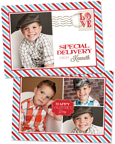 Valentine's Photo Card | Special Delivery