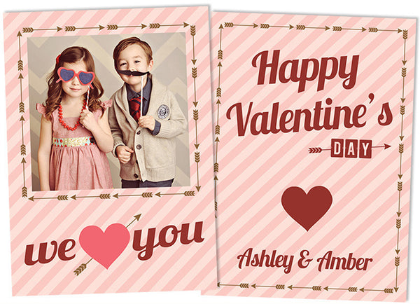 Valentine's Photo Card | XOXO