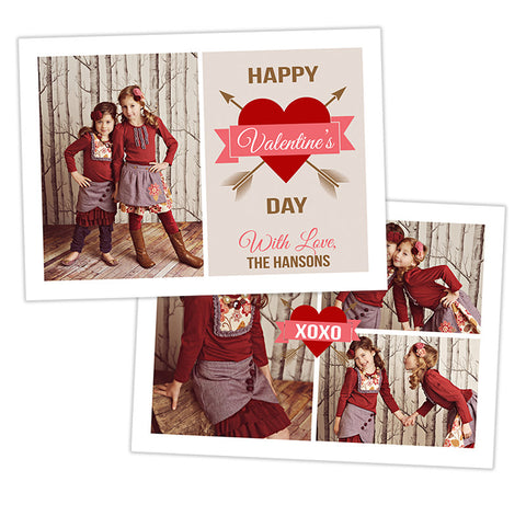 Valentine's Photo Card | We Heart You