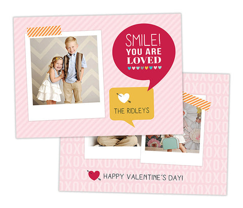 Valentine's Photo Card | Smile!