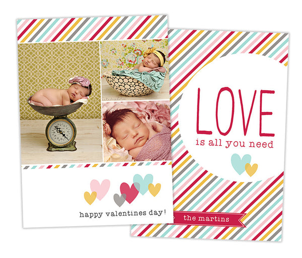 Valentine's Photo Card | LOVE
