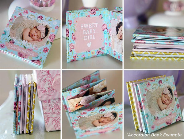 Accordion Mini Book | Marry & Bright