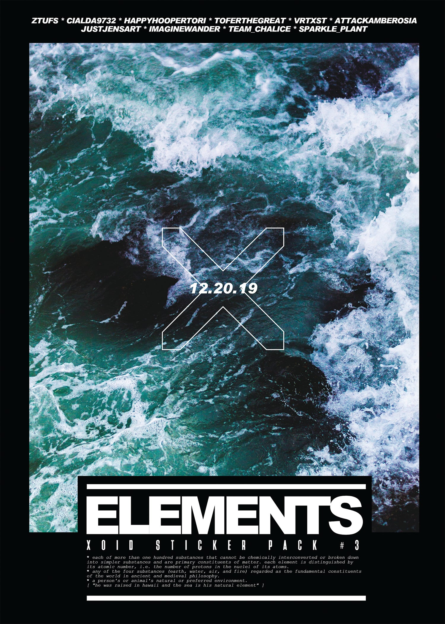 "XOID PACK #3 - ""ELEMENTS"""