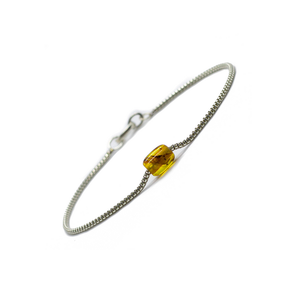 Token Bracelet for Alignment & Radiance - Honey Baltic Amber