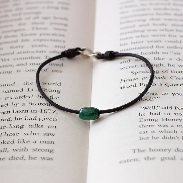 Token Bracelet for Confidence & Prosperity - Jade (Jadeite)