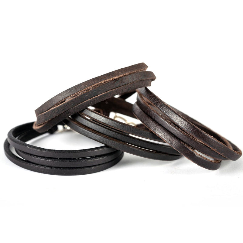Trinity_AL Bracelet American Bison Leather