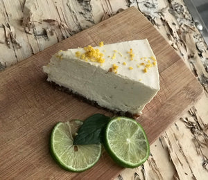 RAW VEGAN LEMON CHEESECAKE |CHEESECAKE CRUDIVEGANO DE LIMON