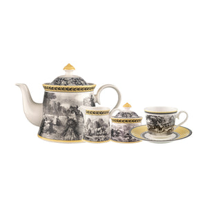 Audun Ferme Tea/Coffee Set 6 person on 15 pieces