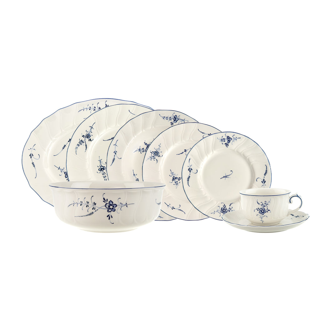 Old Luxembourg Dinner Set 6  person on 38 pieces