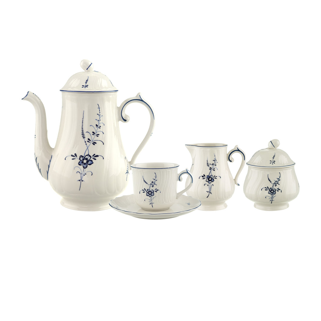 Old Luxembourg tea/coffee Set 6 person on 15 pieces