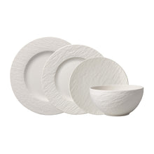 Load image into Gallery viewer, Manufacture Rock Blanc Dinner Set 6  person on 24 pieces
