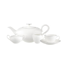 Load image into Gallery viewer, Anmut Platinum tea/coffee Set 6 person on 15 pieces