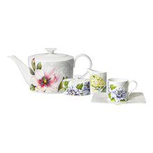 Load image into Gallery viewer, Quinsai Garden tea/coffee Set 6 person on 15 pieces