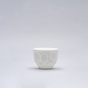Gray Pearl Arabic coffee/tea cup 0.08L 12 pieces