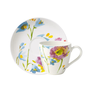 Anmut Flowers Espresso Set 6 person on 12 pieces