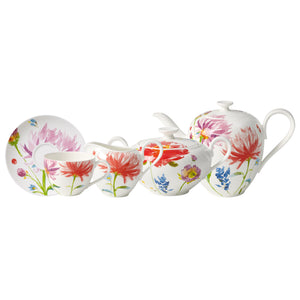 Anmut Flowers Tea Set 6 person on 15 pieces
