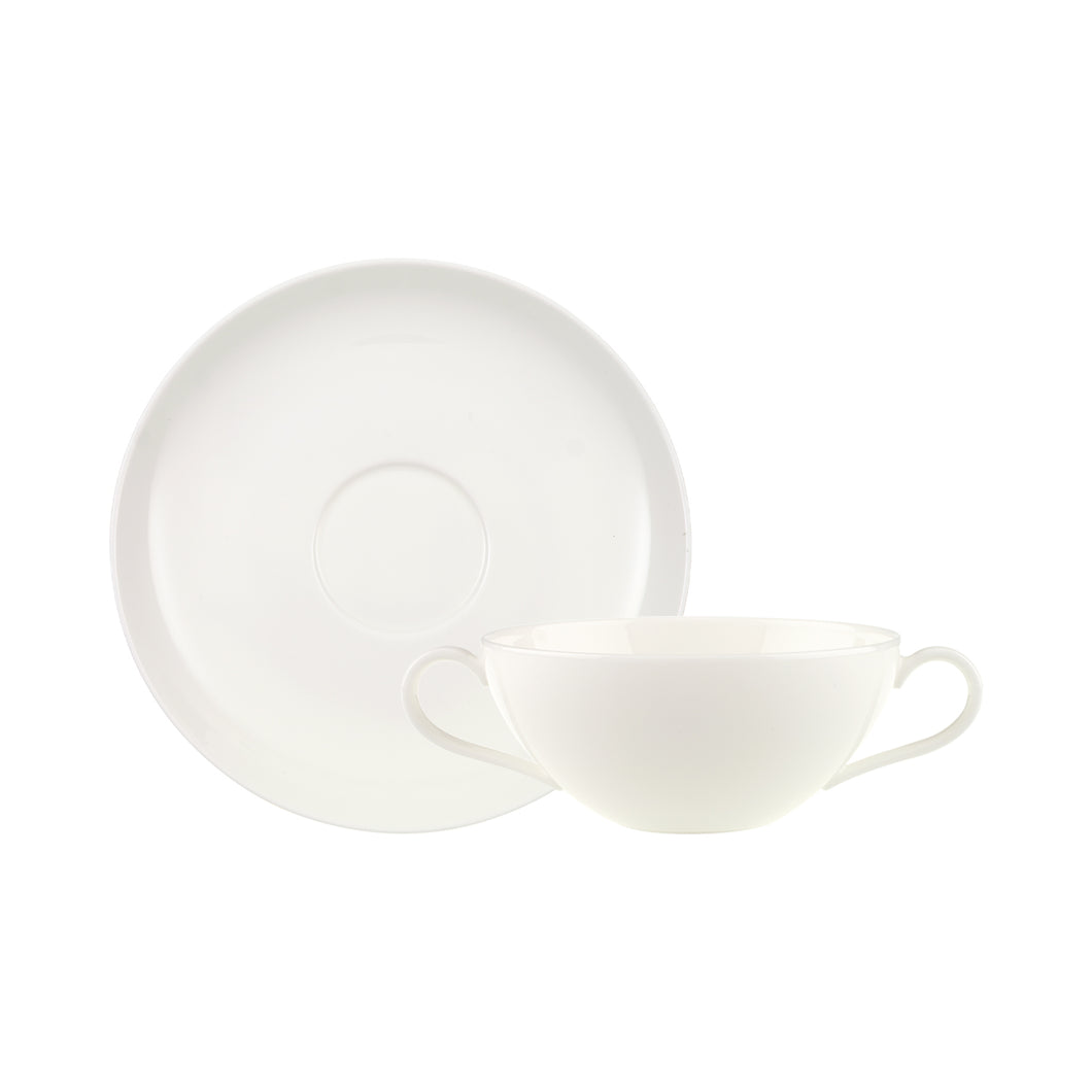 Anmut Soup cups and Saucers 6 person