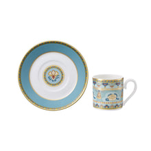 Load image into Gallery viewer, Samarkand AquaMarine espresso set 6 person