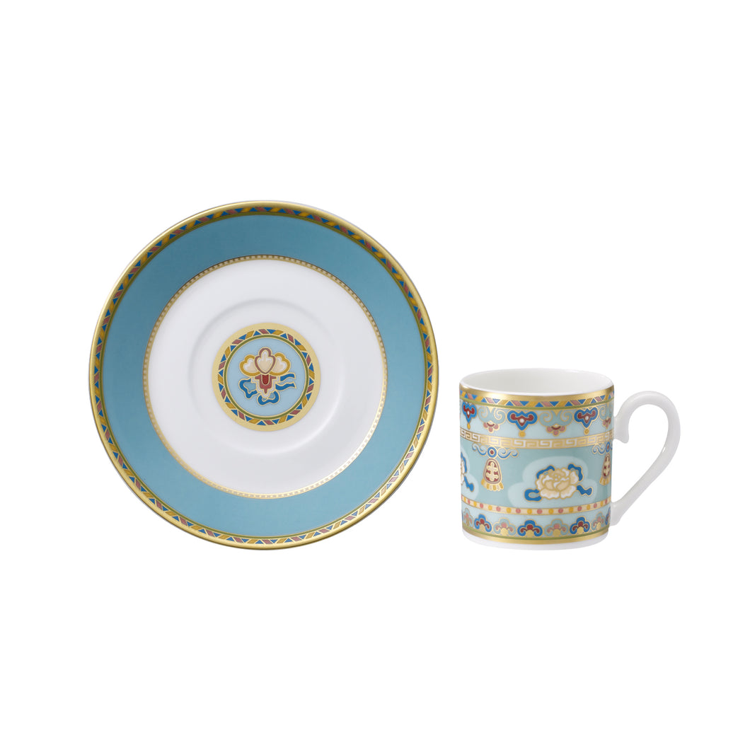 Samarkand AquaMarine espresso set 6 person