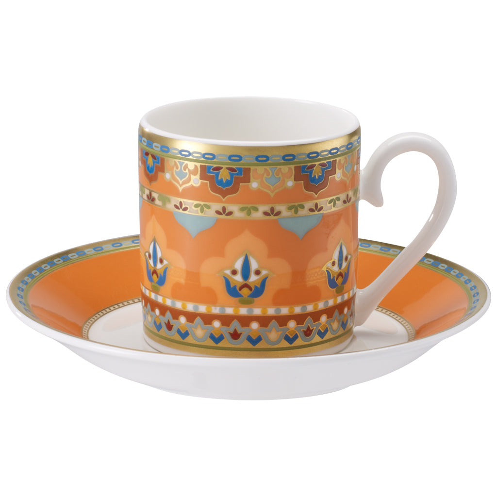 Samarkand Mandarin espresso set 2 person