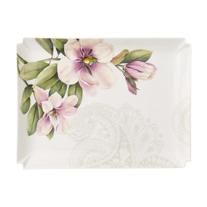 Decorative platter Quinsai Gardern 28x21cm