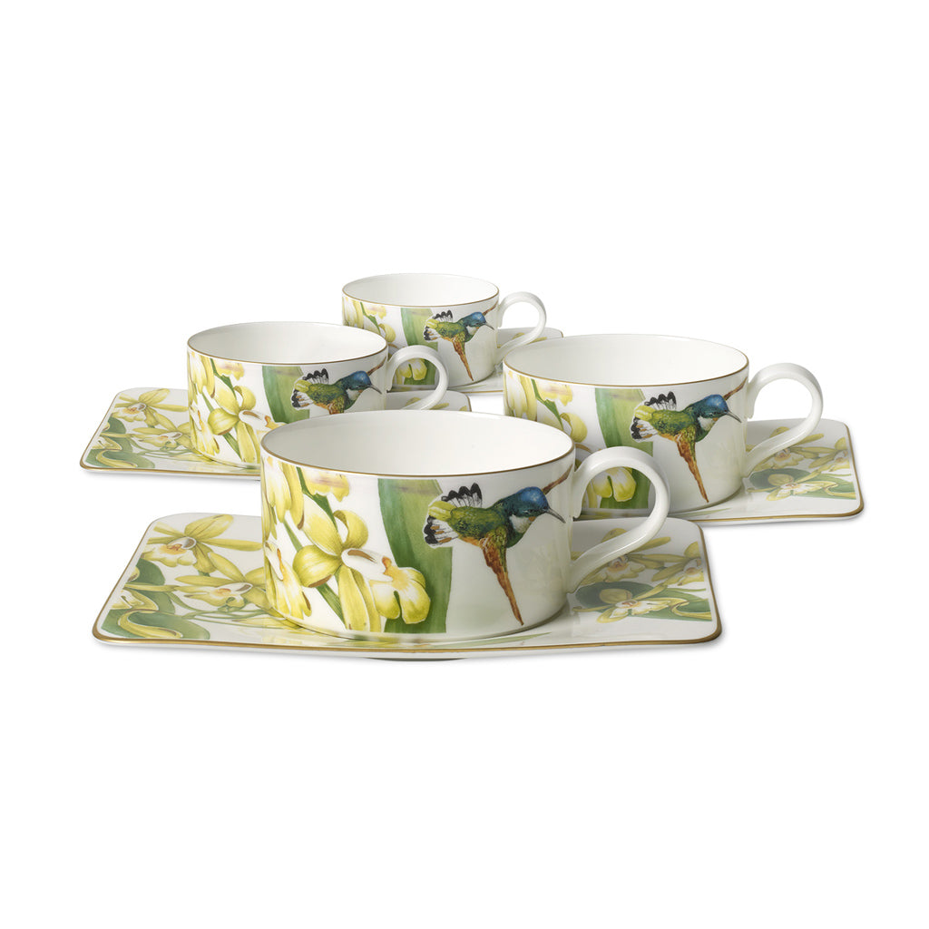 Amazonia tea set 4 person