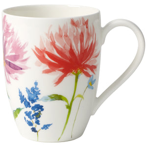 Anmut Flowers Mugs Set 6 person on 6 pieces