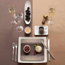 Load image into Gallery viewer, Modern Grace Grey Dinner Set  6 person on 20 pieces