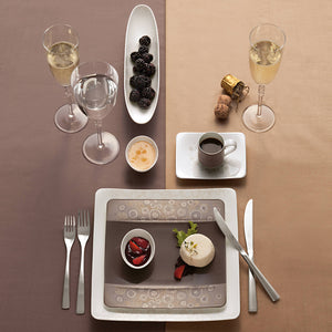 Modern Grace Grey Dinner Set  6 person on 20 pieces