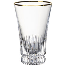 Load image into Gallery viewer, Grand Royal Gold Tall Glass 0.40L 4 pieces