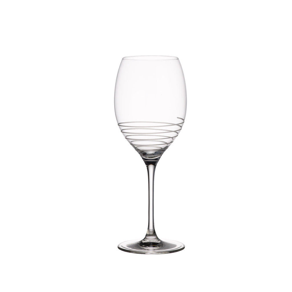 Maxima Decorated juice Goblet Spiral 4  pieces 0.65L