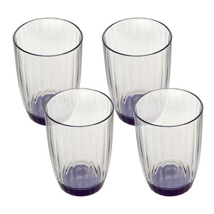 Artesano Original Bleu Small Tumbler 0.43L 4 pieces
