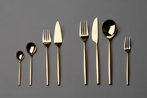 MetroChic d'Or cutlery set 6  person on 30 pieces