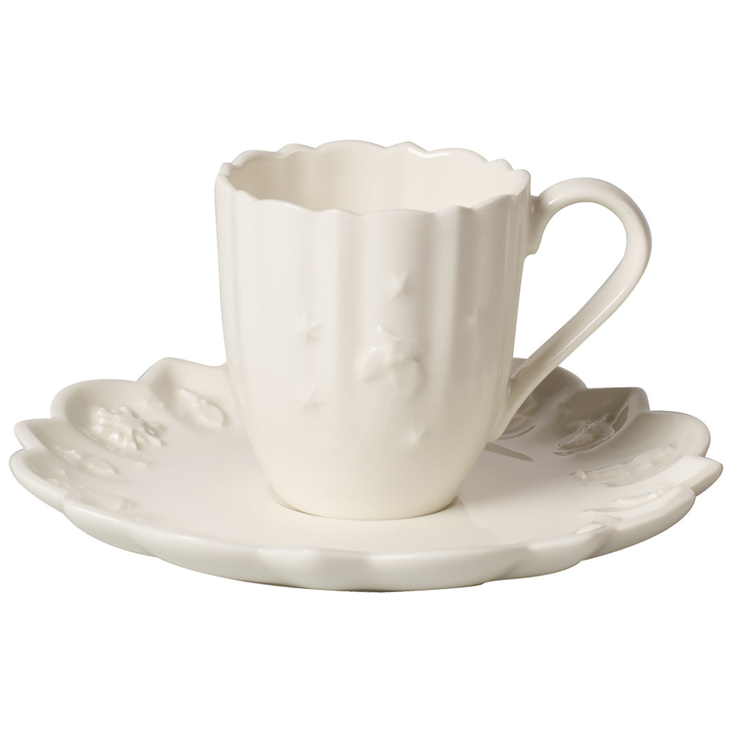 Toy's Delight Royal Classic-espresso cup With saucer 12pcs on 6 person (Only Available in Lebanon)