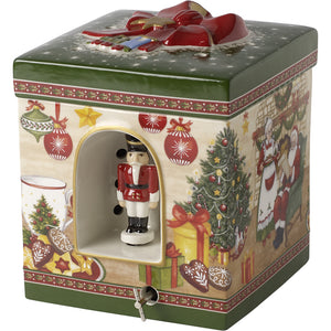 Christmas Toys Gift box large, Santa´s home