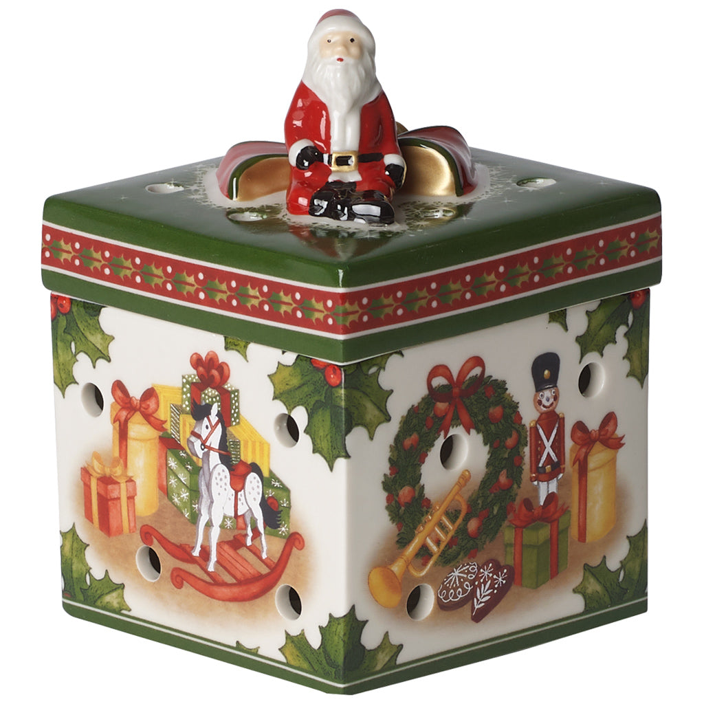 Christmas Toys Gift box small, square. Toys