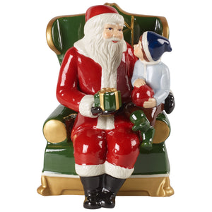 Christmas Toys - Santa on armchair