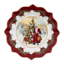 Load image into Gallery viewer, Toy's Fantasy Bowl, Santa with Christmas Tree