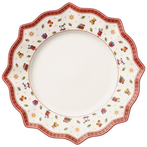 Toy's Delight Flat Plate White 29cm (Only Available in Lebanon)