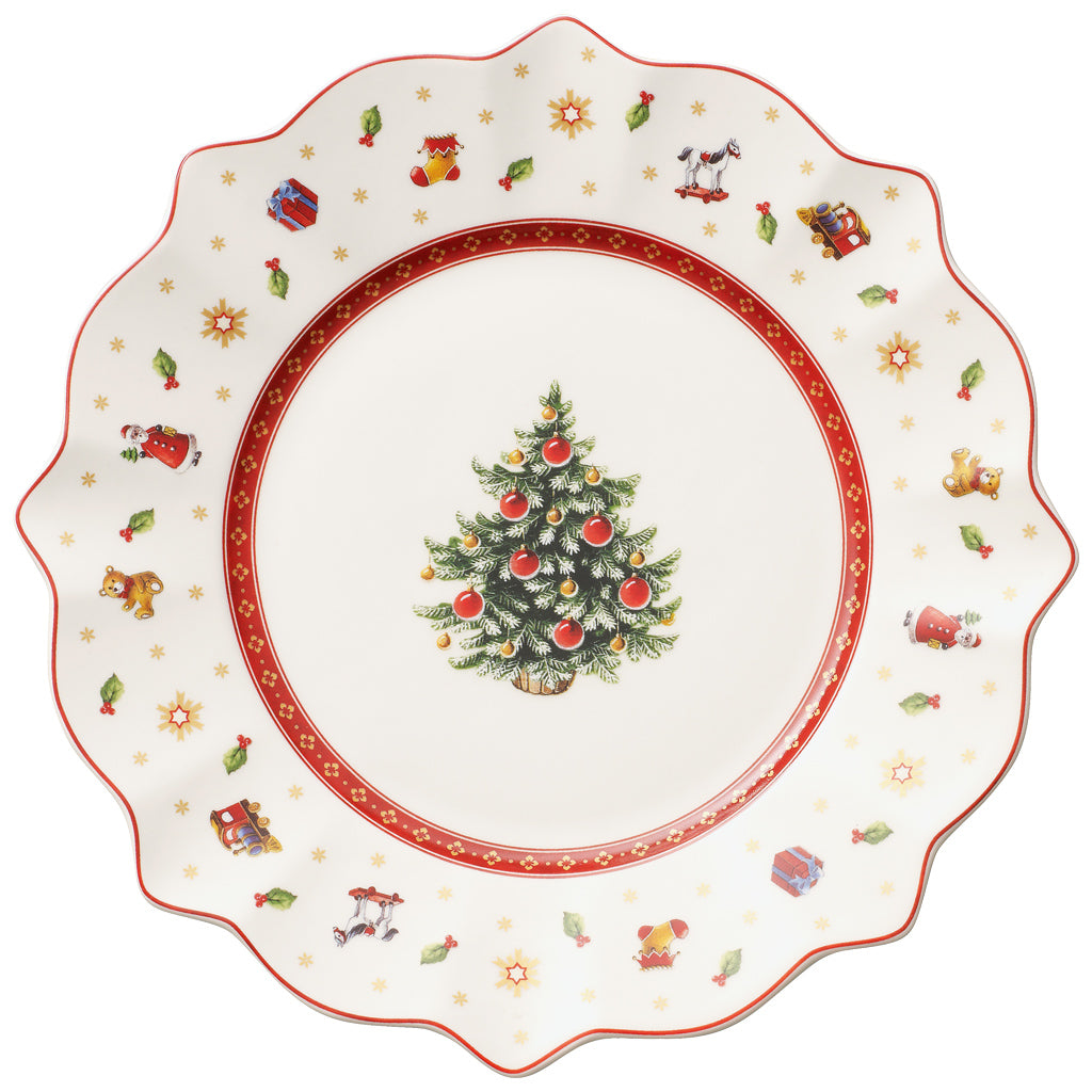 Toy's Delight Salad Plate White (Only Available in Lebanon)