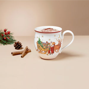 Toy's Delight Mug, Santa with sleigh